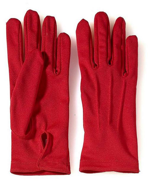 Red Short Gloves