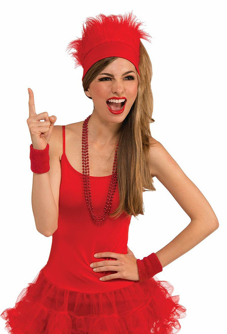 Furry Red Hat