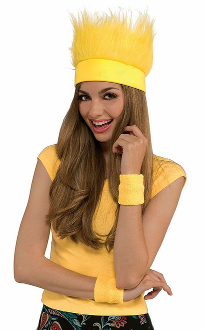 Furry Yellow Hat