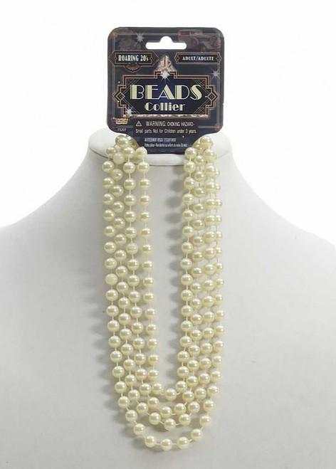 Roaring 20's Beige Beads