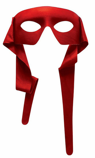 Red Fabric Mask