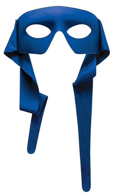 Blue Fabric Mask back