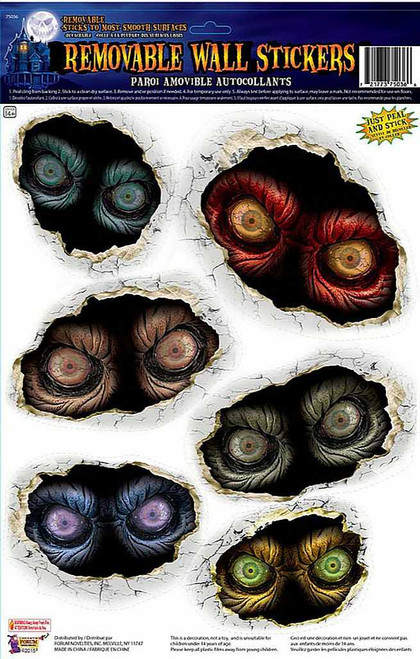 Spooky Eyeball Wall Stickers
