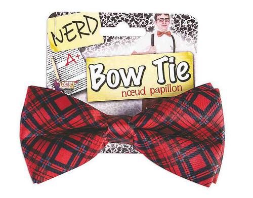 Plaid Nerd Bow Tie
