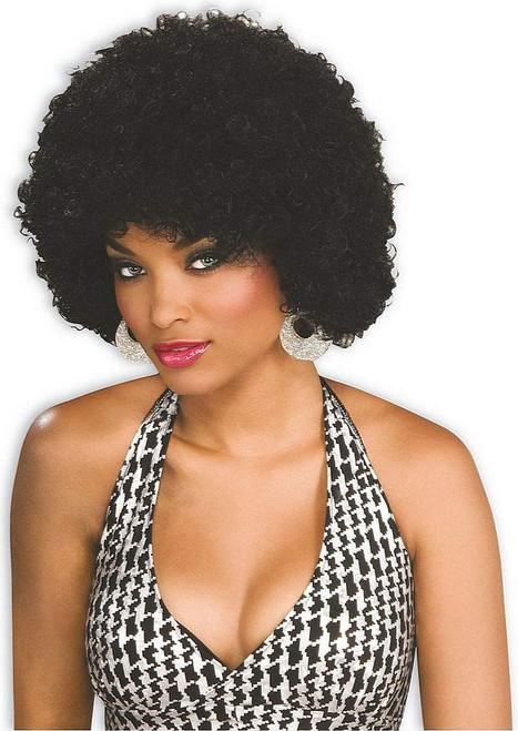 Wig Afro Black