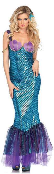Seashell Mermaid Scale Dress