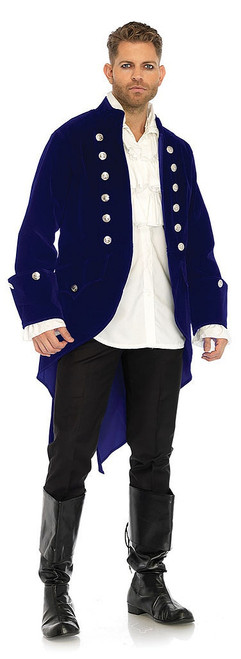 Long Velvet Pirate Beast Coat