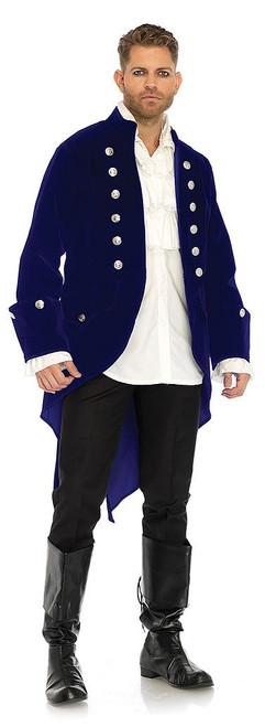 Long Velvet Pirate Beast Coat