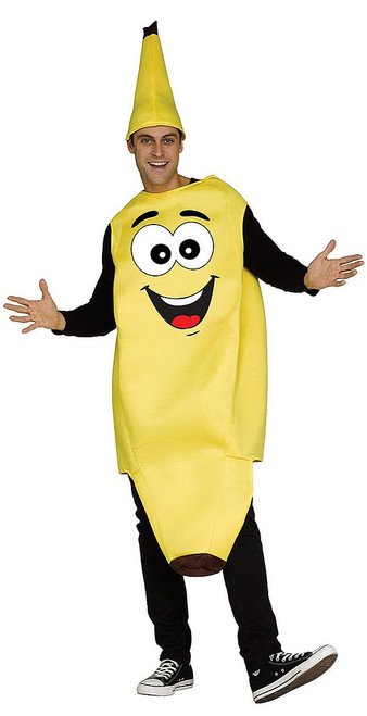 Funny Banana Mens Costume