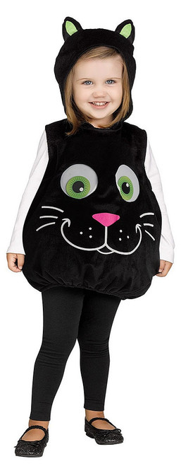 Googly Eye Black Cat Tunic