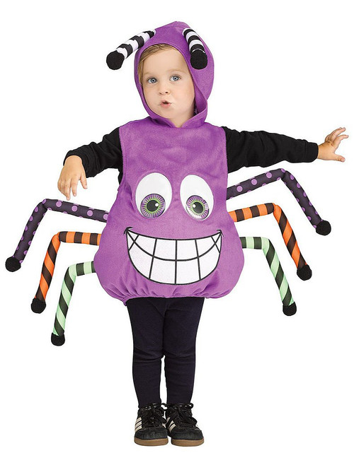Googly Eye Purple Spider Tunic