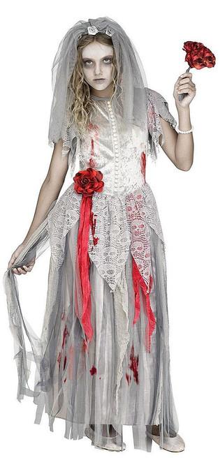 Zombie Bride Girls Costume