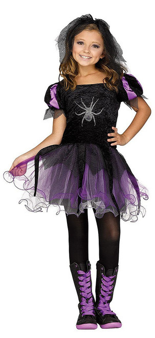 Spider Queen Girl Costume