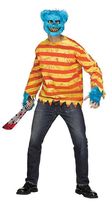 Killer Bear Adult Costume Blue