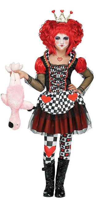Girls Queen of Hearts Costume