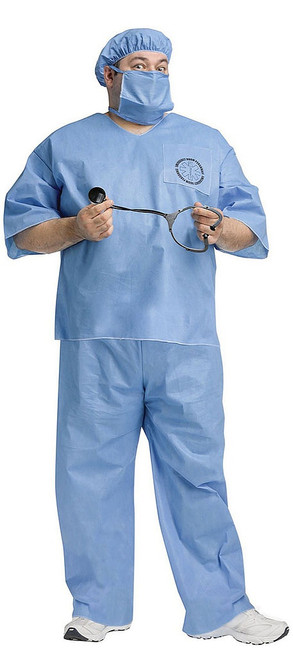 Plus Size ER Doctor Adult