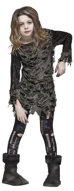Walking Zombie Girls Costume