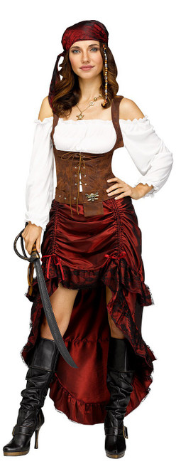 Pirate Queen Womens Costume