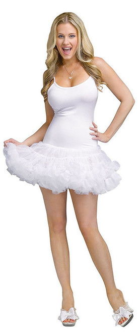 White Pettidress