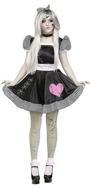 Broken Doll Womens Costume