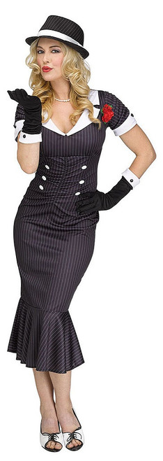 Gangster Gal Womens Costume