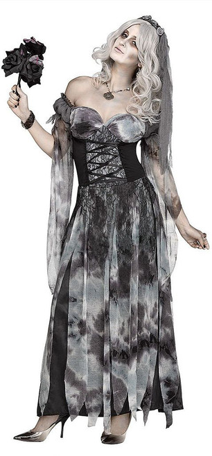 Cemetery Bride Womens Costume