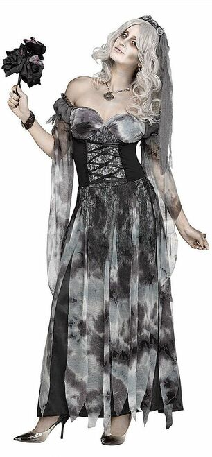 Cemetery Bride Womens Costume