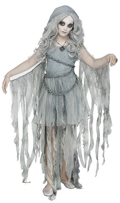 Enchanted Ghost Girls Costume
