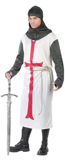 Templar Knight Mens Costume
