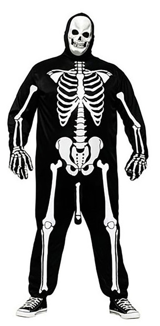 Skeleboner Costume Mens Plus