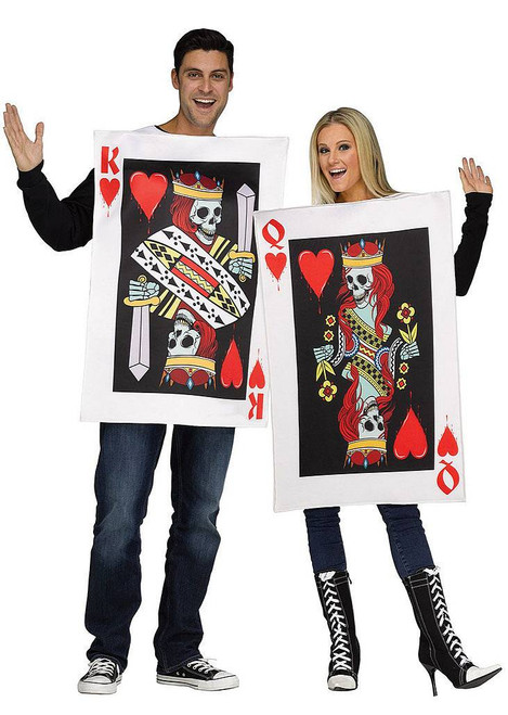 King & Queen of Hearts Mens