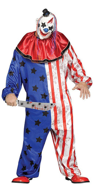 Evil Clown Costume Plus