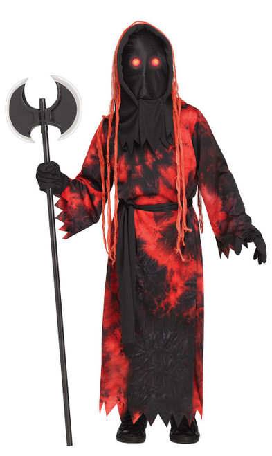 Red Fade Eye Executioner Kids Costume