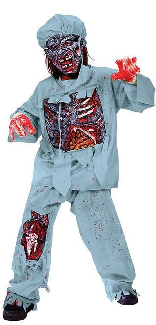 Zombie Doctor Boys Costume