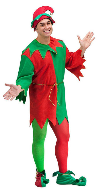 Mens Elf Costume Set