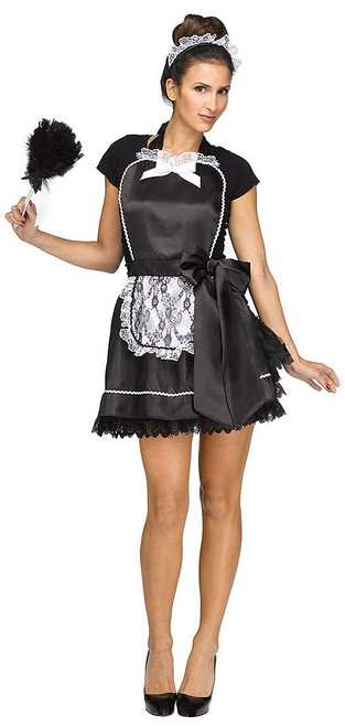 French Maid Apron & Headpiece