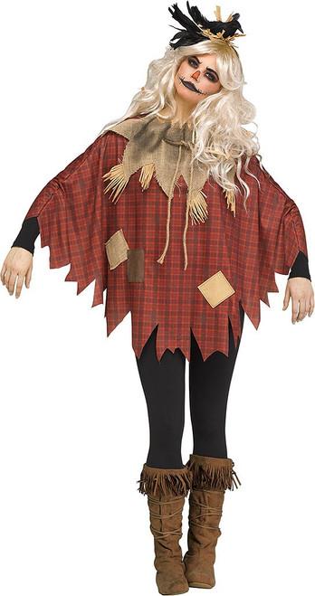 Scarecrow Poncho Womens