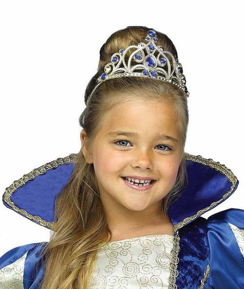 Royal Blue Princess Tiara