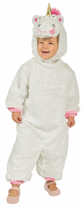 Fluffy Unicorn Minion Toddler Costume