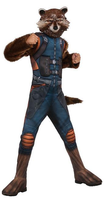 Boys Rocket Raccoon Costume