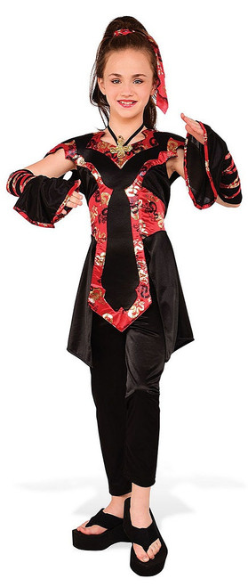 Dragon Ninja Girls Costume