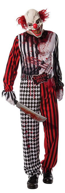 Evil Clown Men Costume