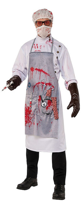 Mad Scientist Mens Costume