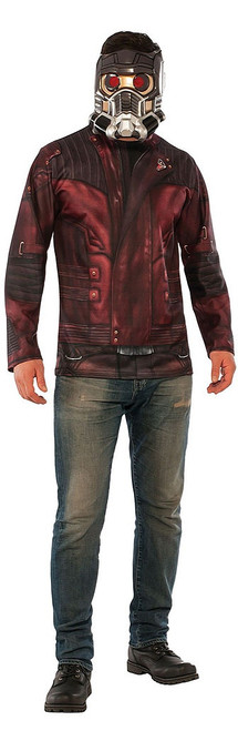 Mens Starlord Costume Top