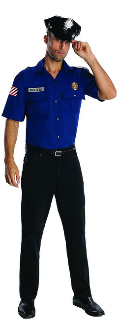 Blue Police Officer Costume