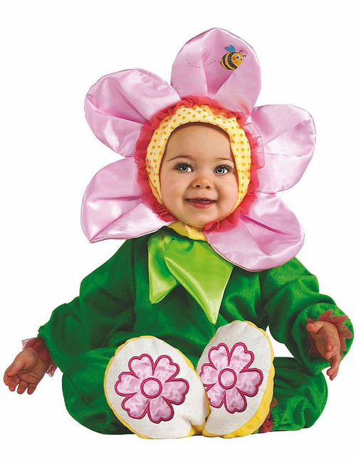 Baby Pink Pansy Costume