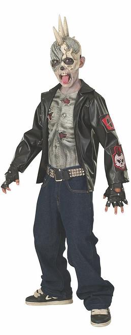 Punk Zombie Boys Costume
