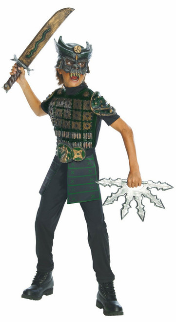 Samurai Warrior Boys Costume