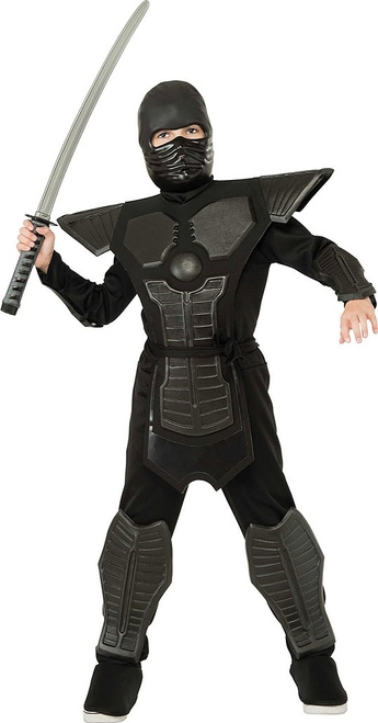 Black Eva Ninja Costume