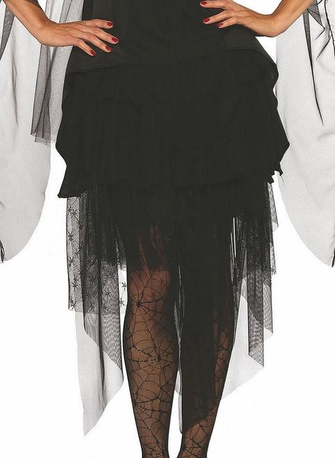 Sheer Ruffle Skirt